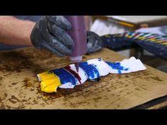 ▶ How to Do an Accordion Tie-Dye Shirt : Tie-Dye Techniques - YouTube