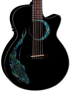Luna Guitars - Fauna Koi