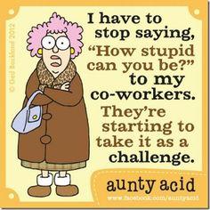 aunty acid | Rosemary's Blog Spot: Aunty Acid