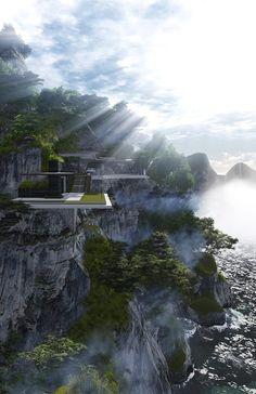 Xalima Island Villa/ Daniel Martin Ferrero architect.