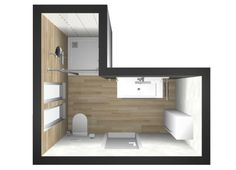 Setting up of small and large living spaces on pinterest floor plans studio apartment and - Kaart badkamer toilet ...
