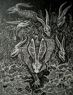 'The Black Rabbit and his Owsla' by ~BrittaM (http://brittam.deviantart.com/art/The-Black-Rabbit-and-his-Owsla-166245969)