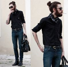 how i love the man bun