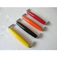 "5"" 128 mm Drawer Pulls Cabinet Door Handles Porcelain Red Yellow Orange Black White"