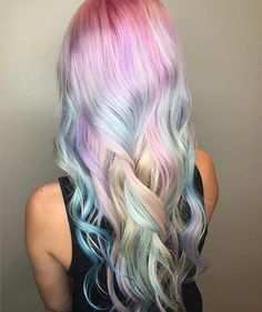 "332 Likes, 9 Comments - San Diego Hair Salon (@robertcromeanssalon) on Instagram: ""✨@bristen_arcs making unicorn dreams come true!! ✨"""