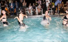 Aqualillies at #NYFW at the Chromat After Party.  www.aqualillies.com
