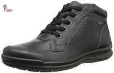 Ecco  Remote Gore, Hi-Top Sneakers homme - Noir - Schwarz (BLACK/BLACK), 42 EU - Chaussures ecco (*Partner-Link)