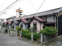 Building Exterior, Japanese House, Old Houses, Poses, Retro, Architecture, Street, Urban, Space