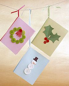 Targetes de Nadal amb botons