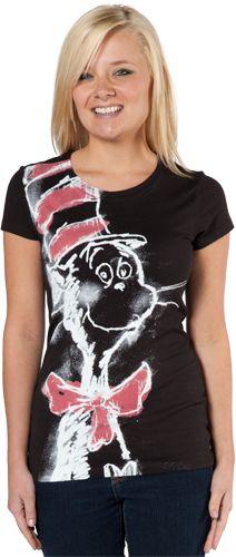 Blackboard The Cat In The Hat T-Shirt
