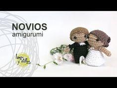 Tutorial Novios Boda Amigurumi Crochet o Ganchillo en Español - YouTube