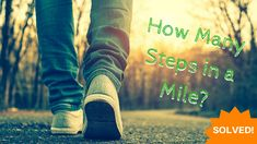Find how many steps you take in a mile by figuring out your average stride. It only takes a minute to calculate an accurate number of steps you have to take to walk a mile. Fitness Goals, Fitness Motivation, Walking Exercise, Spark People, How Many, Walk This Way, Jogging, Yoga Poses, Cardio