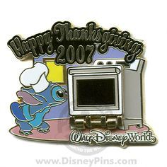 Happy Thanksgiving 2007 - Chef Stitch