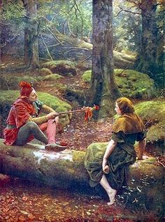In the Forest of Arden by John Maler Collier