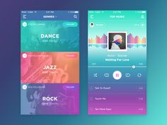 Music Player Inspiration — Muzli -Design Inspiration — Medium