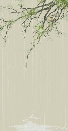 Cute Patterns Wallpaper, Cute Wallpaper Backgrounds, Cool Wallpaper, Cute Wallpapers, Iphone Wallpapers, Chinese Artwork, Chinese Painting, Phone Wallpaper Boho, Very Nice Images