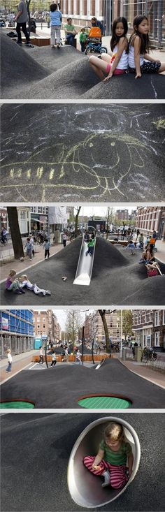Potgieterstraat, Amsterdam by Carve Landscape. Click image for link to full profile and visit the slowottawa.ca boards >> http://www.pinterest.com/slowottawa/