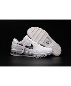the latest 27900 1453d Nike Air Max 2017 Mens White Black Trainers Mens Running, Running Shoes Nike,  Nike