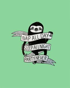 Life Motto #lol #slothlife