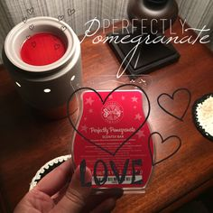 My new favorite scent! Perfectly Pomegranate by Scentsy. www.laurenbrotsky.scentsy.us