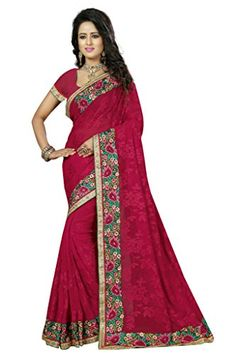 Shoppingover Indian Traditional Saree with Blouse in Geor... https://www.amazon.com/dp/B01NAOG1QY/ref=cm_sw_r_pi_dp_x_L4kCyb9129ME7