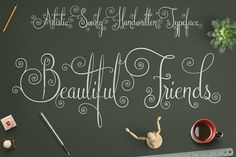 Beautiful Friends by Darwinoo on @creativemarket