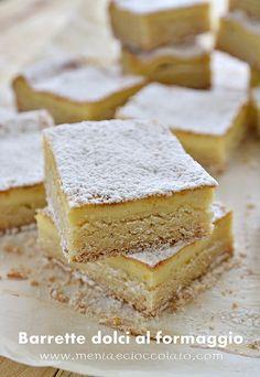 Barrette dolci al formaggio by MentaeCioccolato, via Flickr