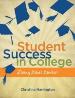 Student Success in College by Christine Harrington #studytips