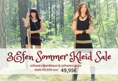 3Elfen Sale Aktion September 2015 Bordeaux, Elf, September, Two Piece Skirt Set, Skirts, Dresses, Fashion Styles, Action, Summer Recipes