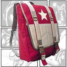 Captain America Marvel Backpack School Rucksack Casual Teenager Daypack Bookbag  #BaggexStore #Backpack