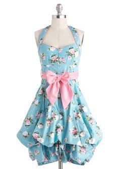Indigo Gardens Dress in Pastel, #ModCloth