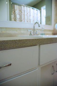 Bright Green Door Blog: How To Spray Paint Countertops   Interesting Idea To  Spray Paint