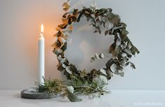 Diy eukalyptus wreath