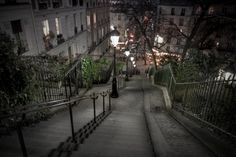 Down Stairs of Montmartre