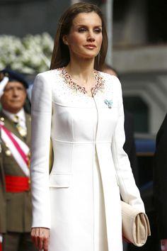 Letizia Ortiz Rocasolano married King Felipe VI of Spain in 2004   - TownandCountryMag.com