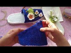 Yeni Moda Ceyizlik Boncuk İşlemeli Patik Modeli - YouTube