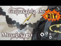 Guirnalda de Murcielago Fiesta Superheroes/ DIY Bats Garland Halloween - YouTube