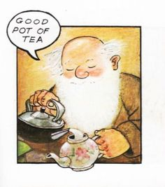 Taken from Raymond Briggs children's book 'Father Christmas'