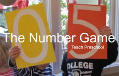 The Number Game by Teach Preschool
