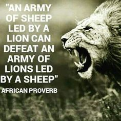 The importance of leadership.striving to be a lion - metaphorically speaking V. - The importance of leadership…striving to be a lion – metaphorically speaking Visit iamroboneill - Good Quotes, Wisdom Quotes, Me Quotes, Inspirational Quotes, Motivational Quotes, Quotes Images, Rocky Quotes, Advice Quotes, Leadership Quotes