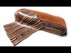Polymer Clay Tutorial | Gessetti Chalks , Paste Polimeriche e Foglia Oro - YouTube