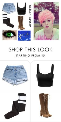 """Malia- Bitter (Blue Exorcist OC)"" by sad-girl-with-a-pretty-face ❤ liked on Polyvore featuring J.TOMSON, H&M and Etro"
