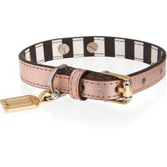 Henri Bendel West 57th Dog Collar ($68) ❤ liked on Polyvore featuring rose gold