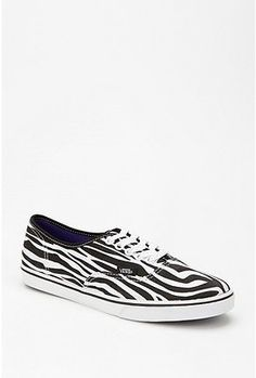 zebra striped vans