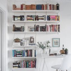 "164 Likes, 6 Comments - TheStylishNook (@thestylishnook) on Instagram: ""❤ for shelves via @gravityhomeblog #thestylishnook #inspocorner #stylishcorner #homedecor…"""