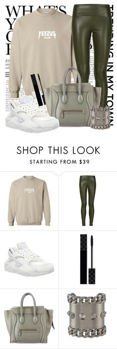 """""""Untitled #1302"""" by noviii ❤ liked on Polyvore featuring Getting Back To Square One, NIKE, Gucci, CÉLINE and Givenchy"""