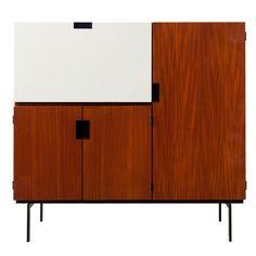 Cees Braakman Japanese Series Bar Cabinet ca1950's