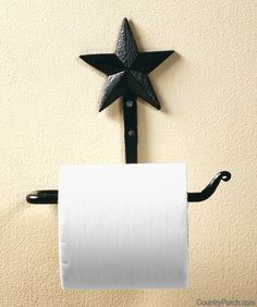 Guest Bathroom Toilet Paper Holder   Texas Star