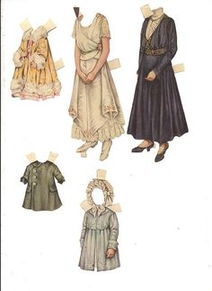 Betty Bonnet Paper Dolls 5.