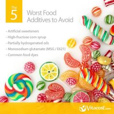 The 5 Worst Food Additives to Avoid